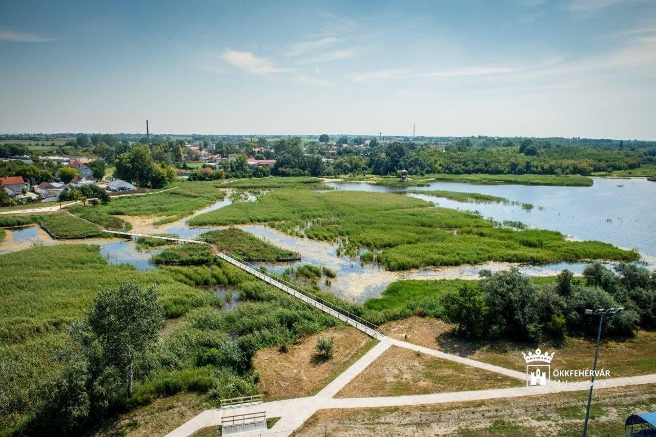 Több mint 200 hektáros zöldterület-fejlesztést kapott Székesfehérvár