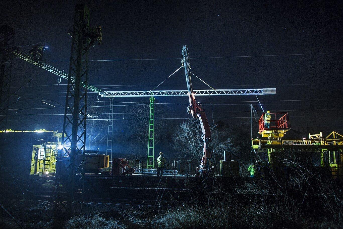 Érd, Háros és Budatétény új hídszerkezete is elkészült a százhalombattai vasútvonalon