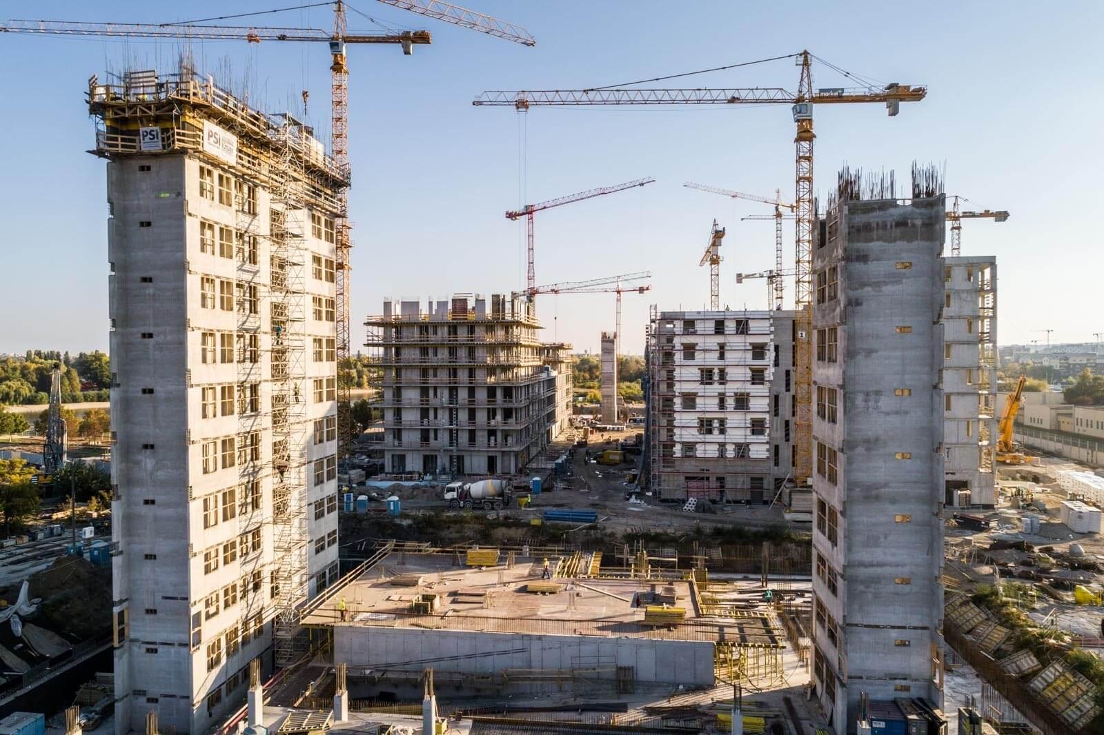 A BudaPart épületeiből már kezd kirajzolódni az új városnegyed térképe - videó