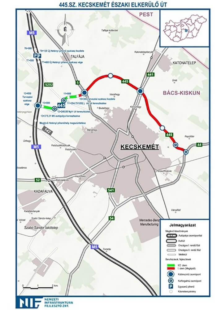 Szeged Elkerülő Térkép