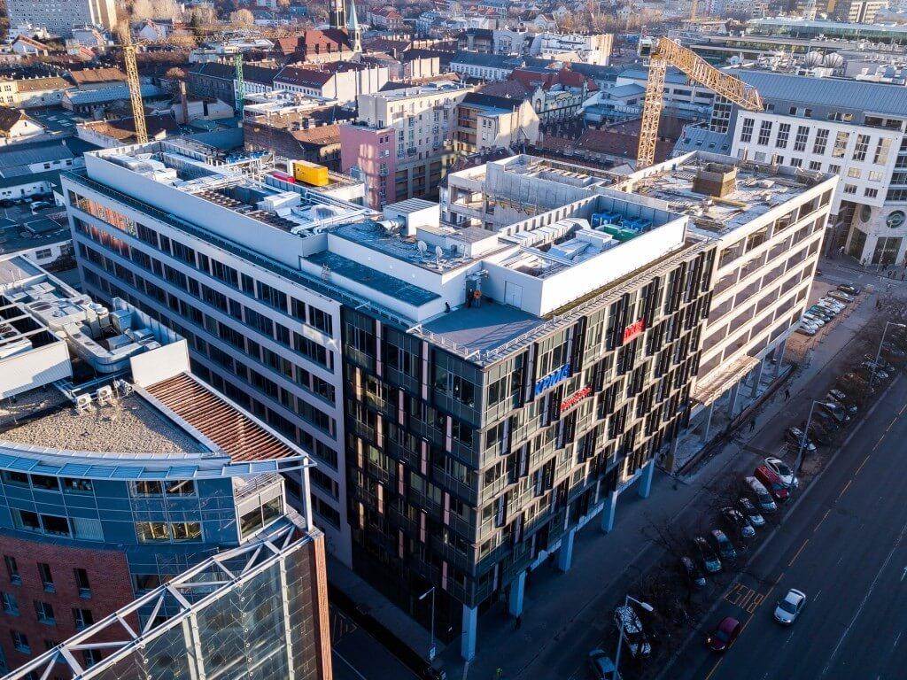 Újabb 8 emeletes irodatorony készül el jövőre a Váci úton
