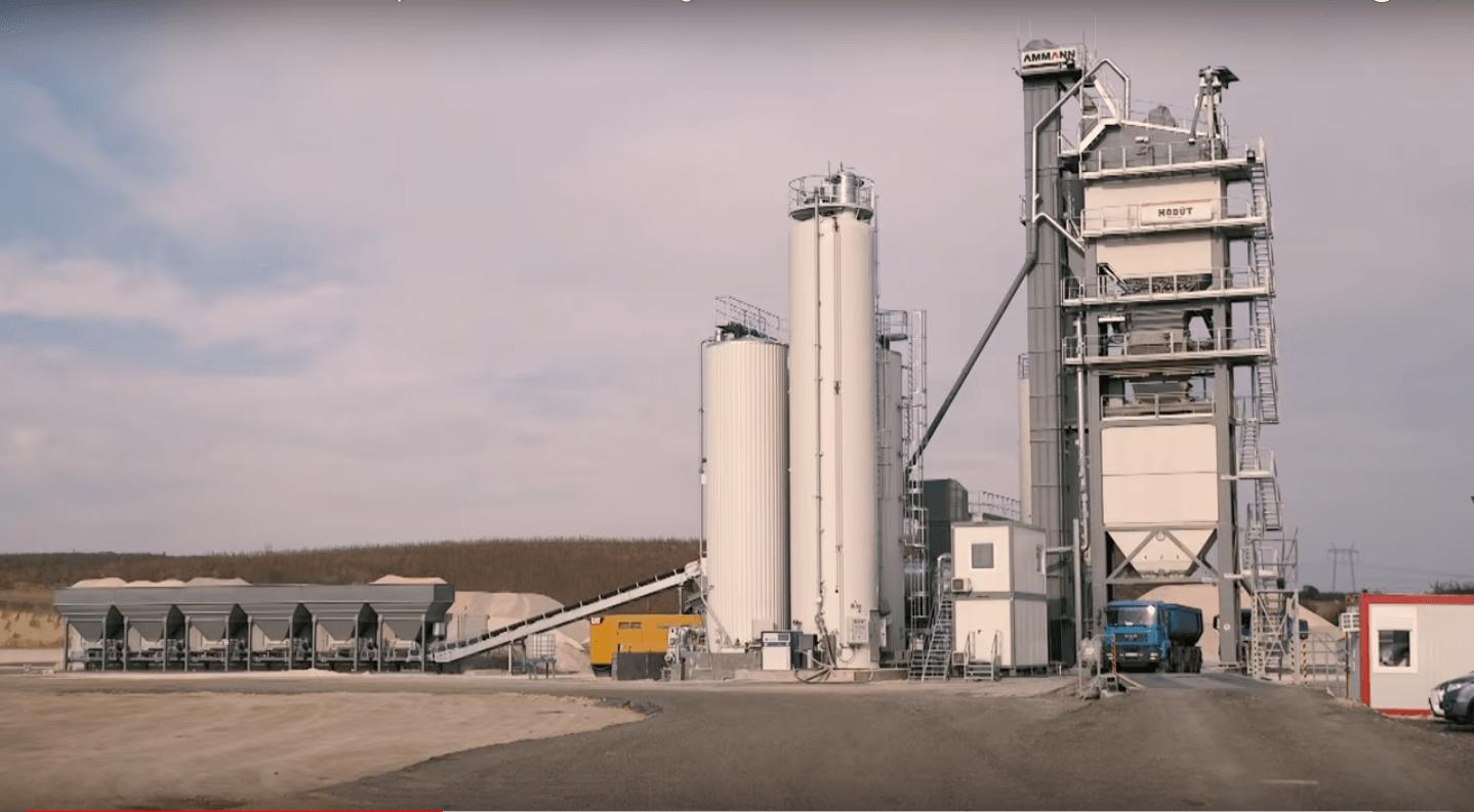 Ceglédbercelen épült fel az ország legnagyobb teljesítményű aszfaltkeverője