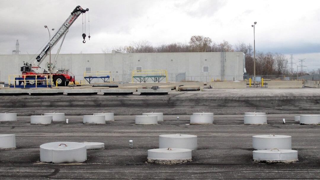 Új csarnokkal növelik a radioaktív hulladéktárolás biztonságát Püspökszilágyon