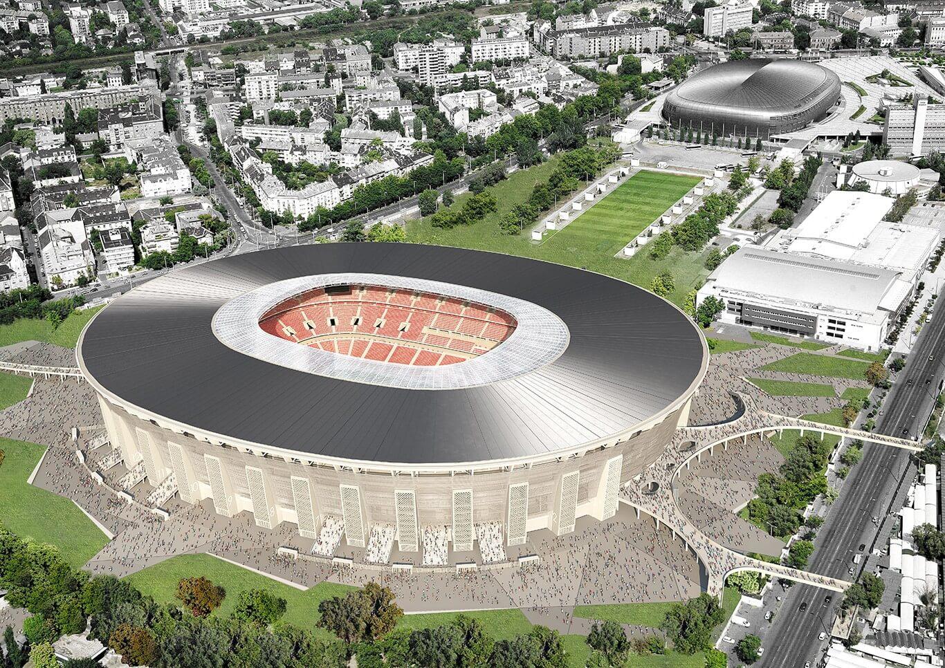 Ez a rendszer garantálja a Puskás Stadion biztonságát