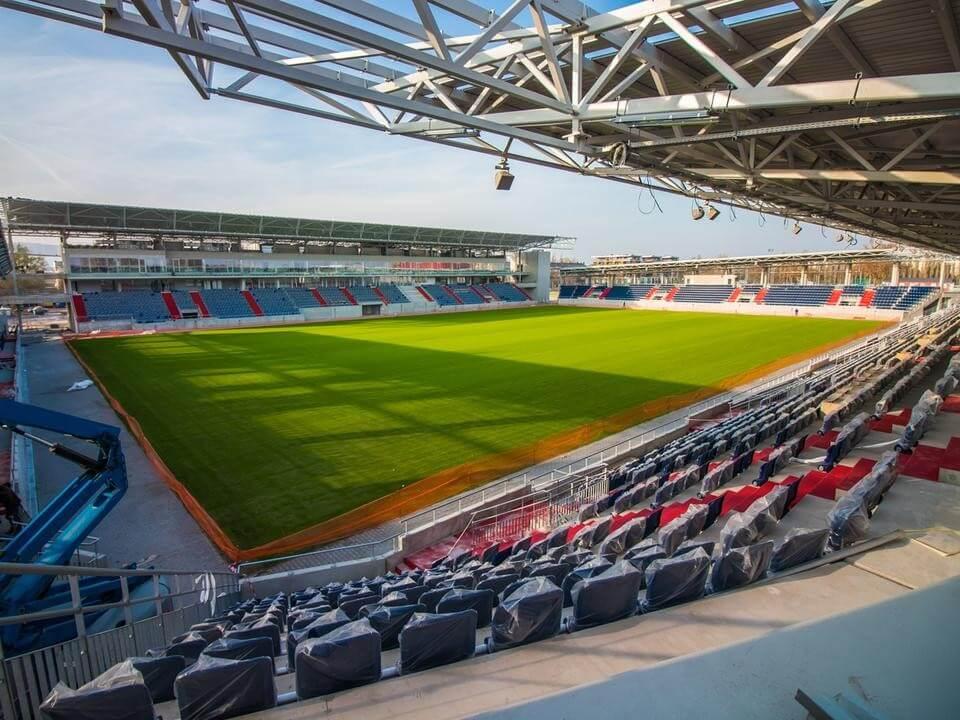 Új lelátó is készül a Vasas-stadion építésének újabb ütemében