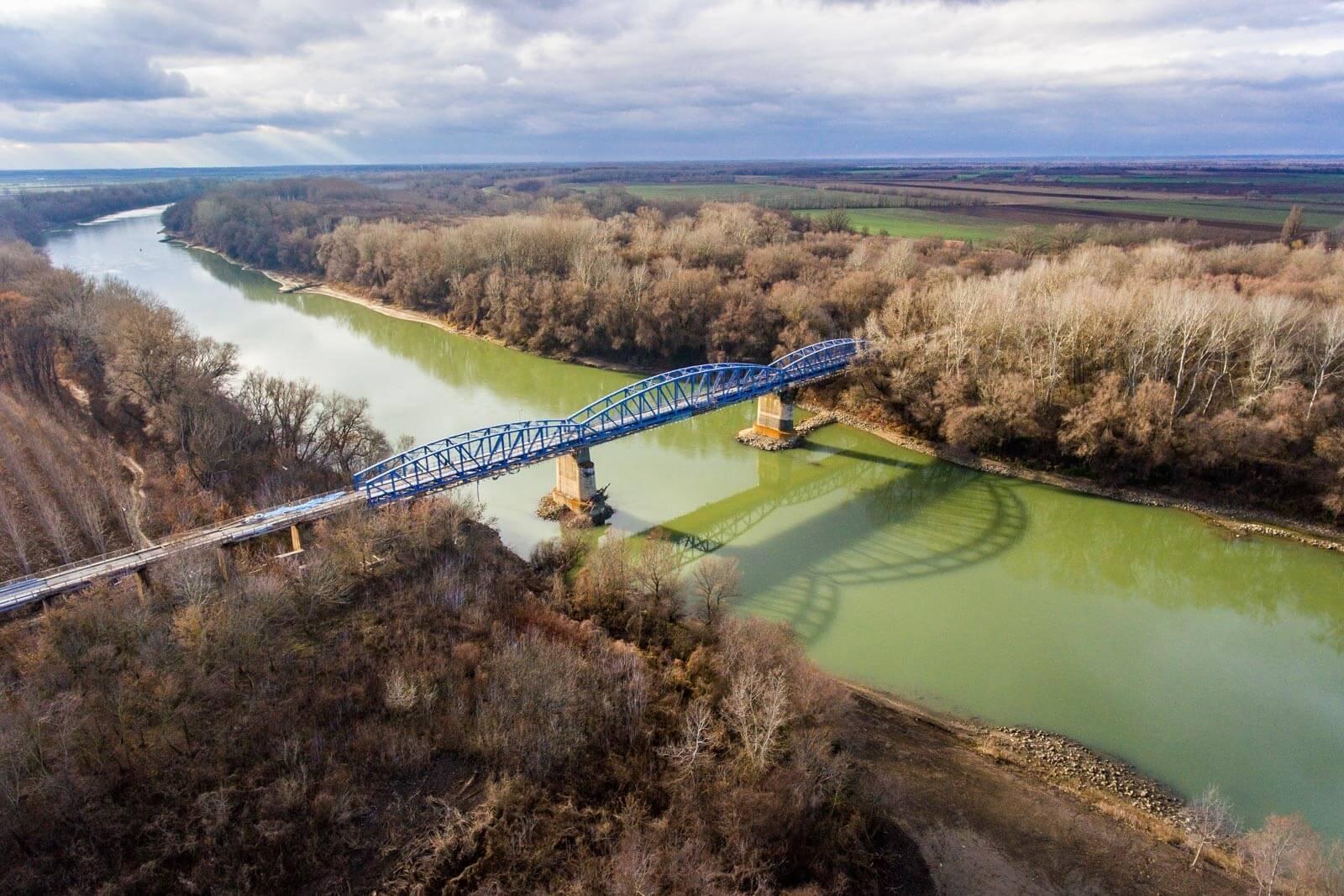 Így újítják fel Kisköre 130 éves Tisza-hídját