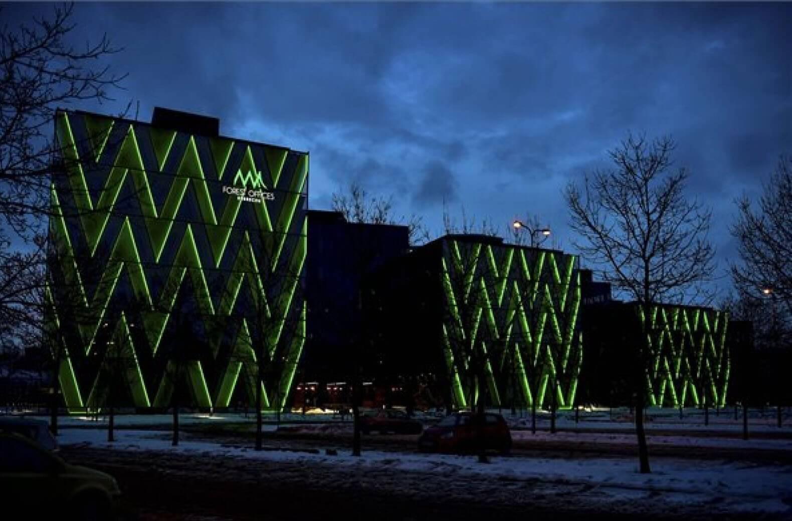 Hamarosan átadják Debrecen futurisztikus irodaközpontját