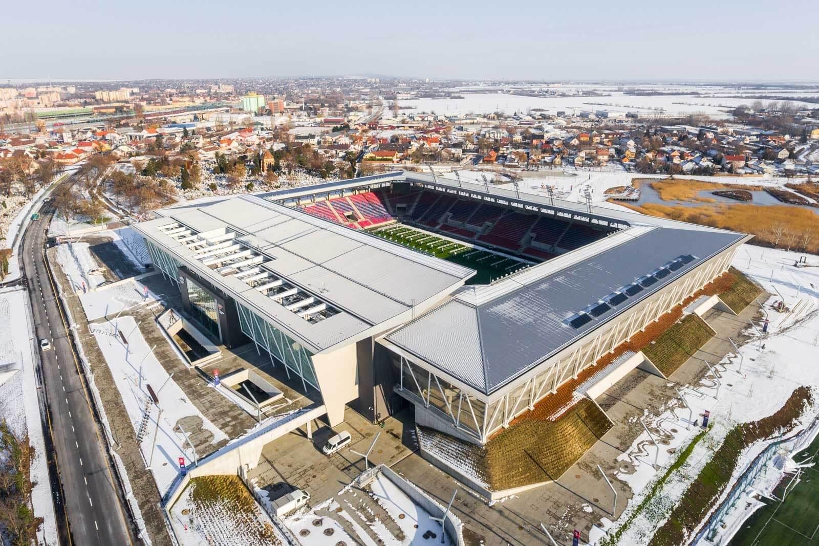 A legmodernebb magyar stadionban nyert új otthont a Vidi - videó