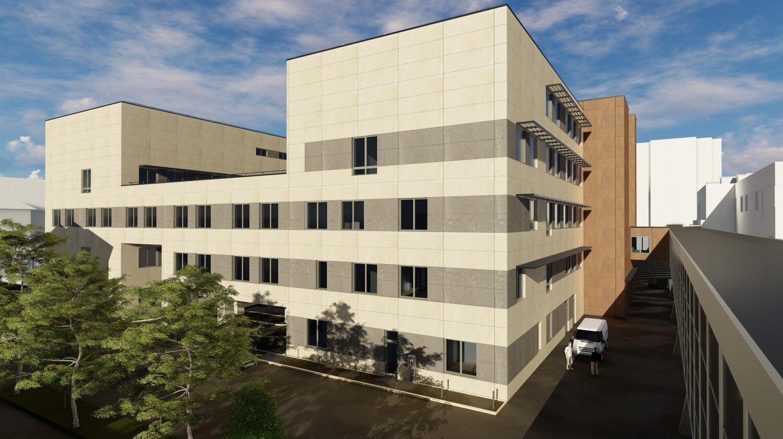 Az Épkar és a Fejér B.Á.L. építik az új belgyógyászati tömböt Székesfehérváron