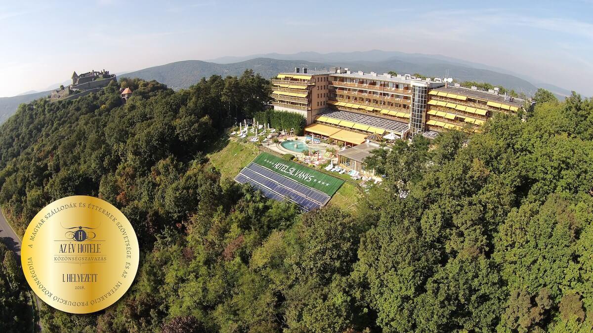 A lenyűgöző panorámájú Silvanus nyerte el Az Év Hotele címet