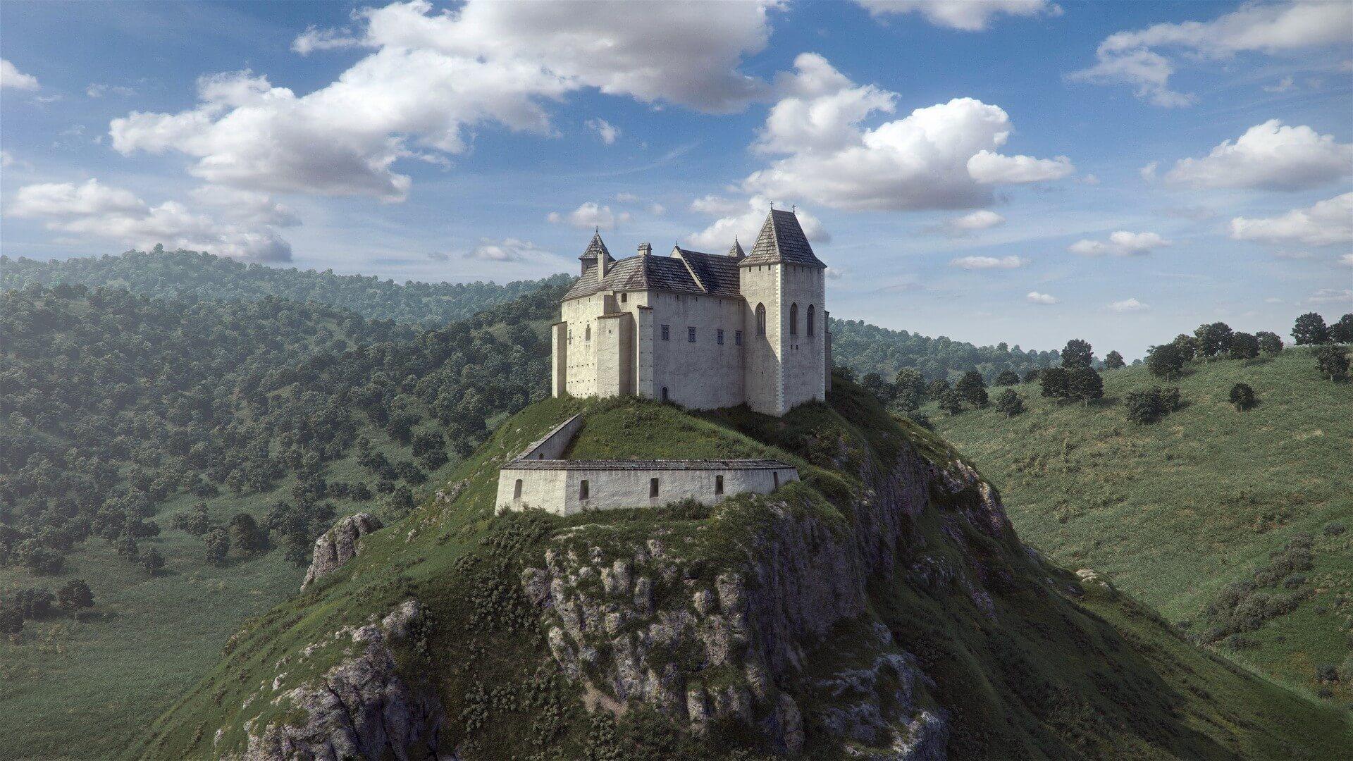 Szökőkúttal születik újjá a füzéri vár