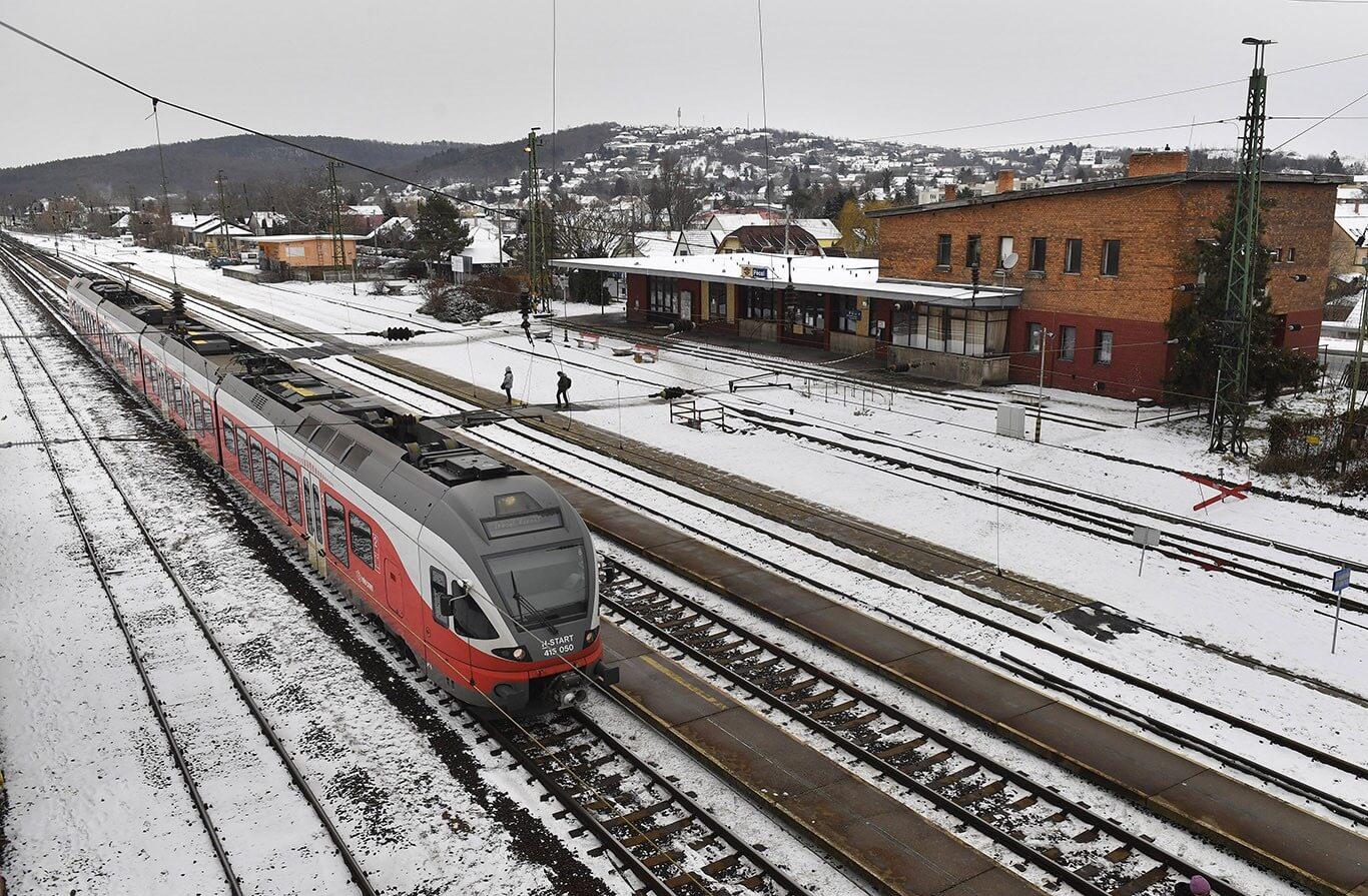 Kulcsprojekt indul a hatvani vasútvonal 150 milliárdos fejlesztésében
