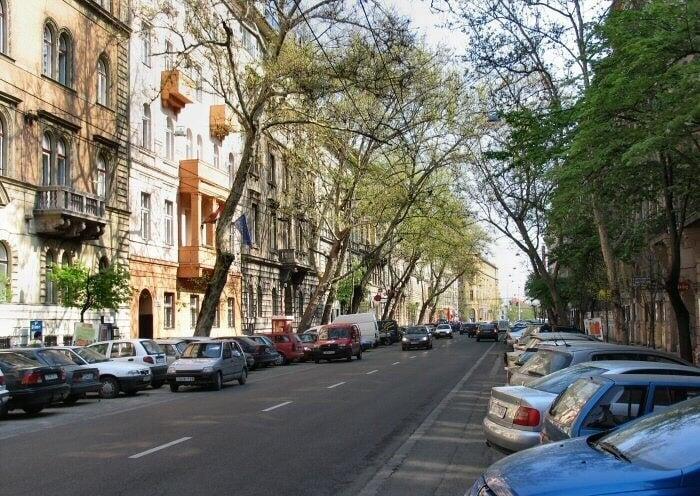 Így újul meg a Podmaniczky utca belvárosi szakasza