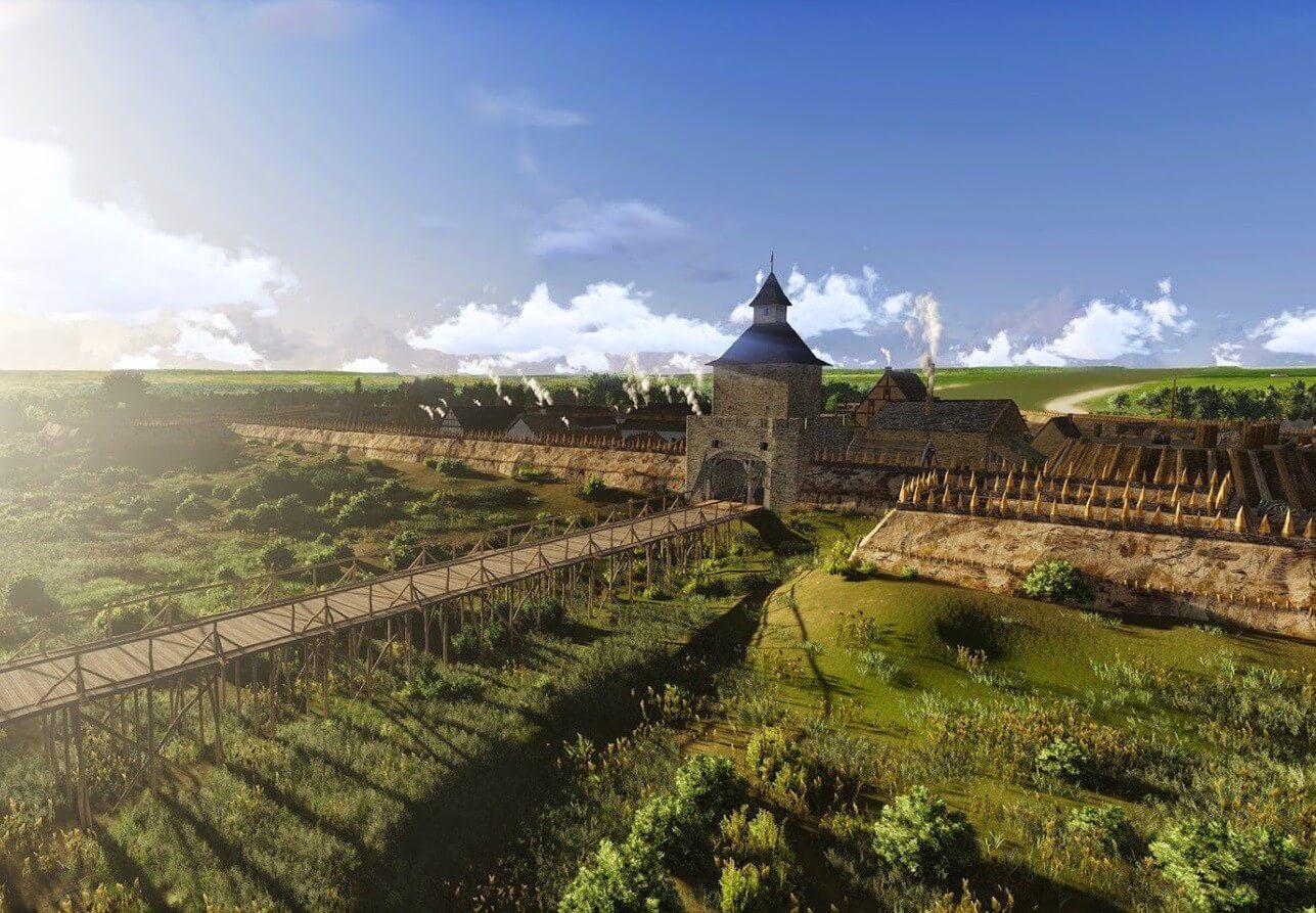 Impozáns sétánnyal és látogatóközponttal újul meg a szolnoki várkerület