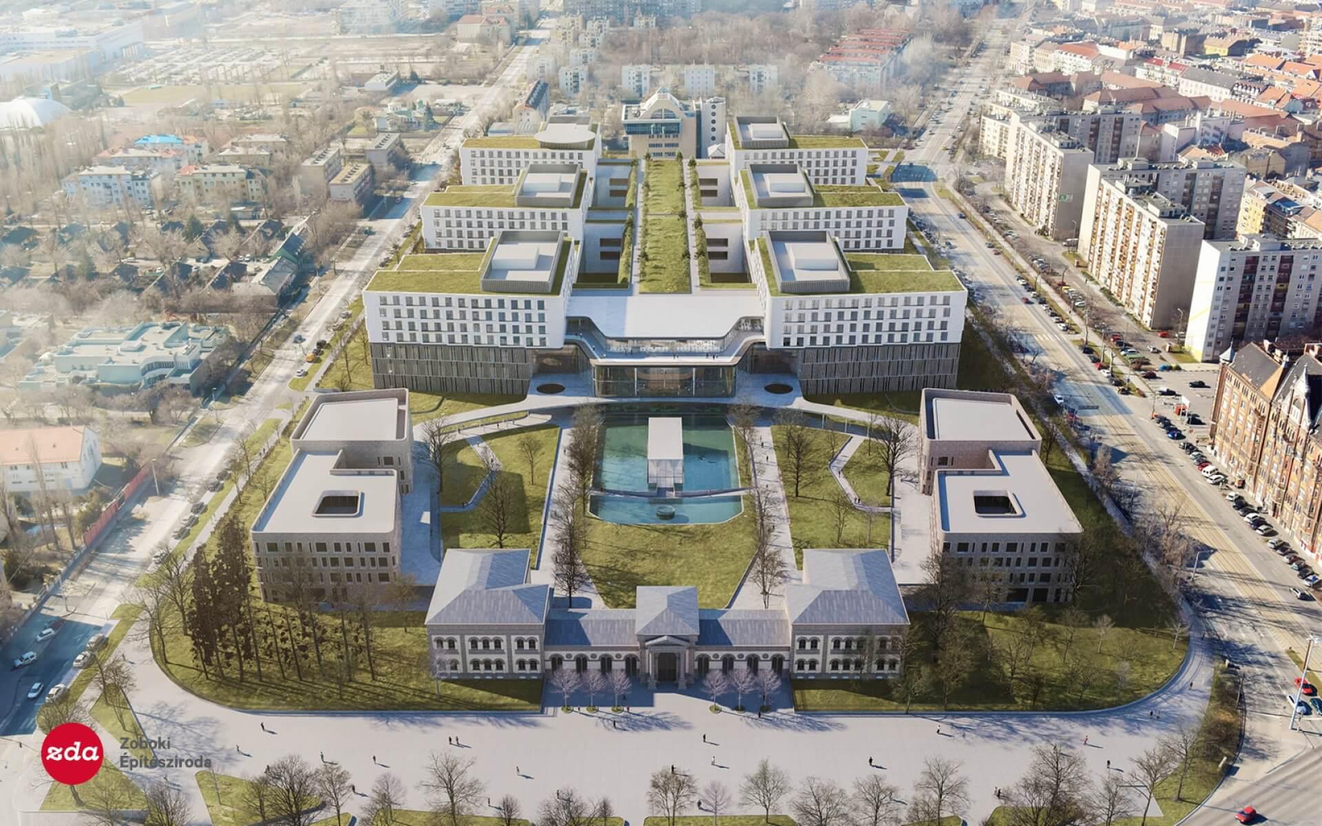 Ilyen lesz a Nagyvárad téri szuperkórház