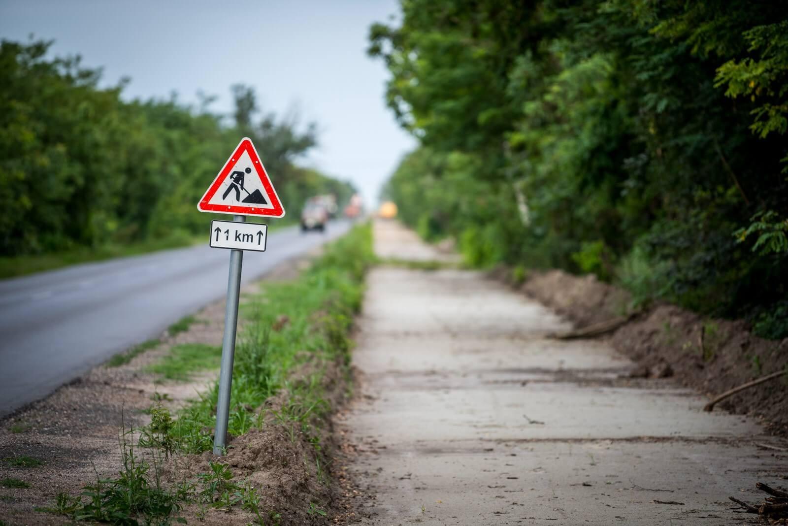 Pár hónapon belül elkészül a kerékpárút a magyar-szlovén határon