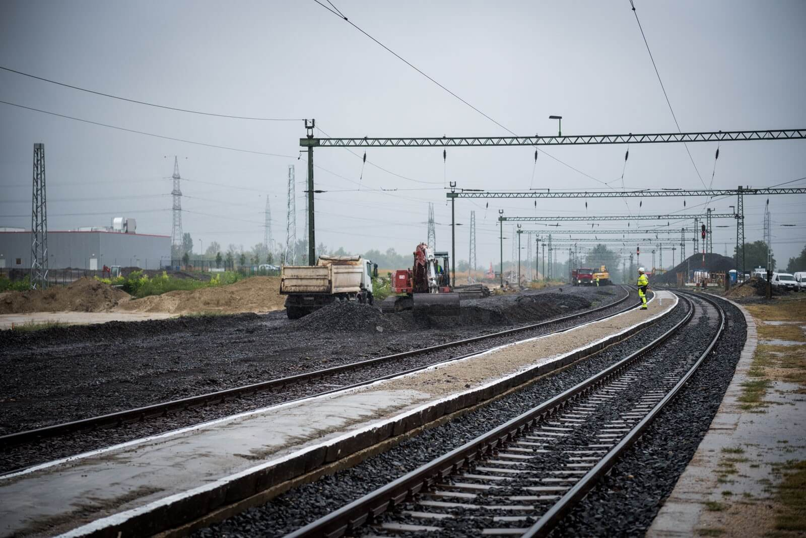 Újszász vasútállomását fejleszti az R-Kord