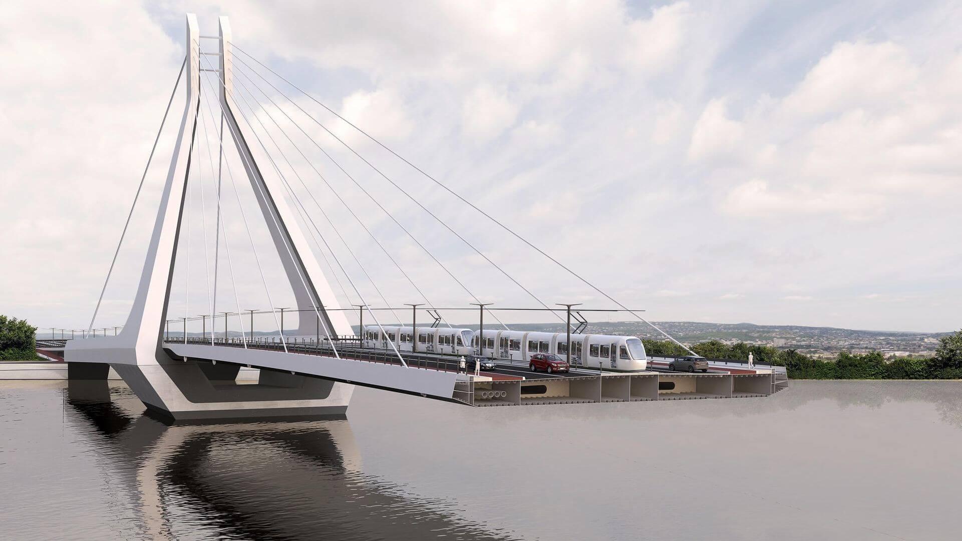 Így folytatódik a budapesti Duna-híd projektje