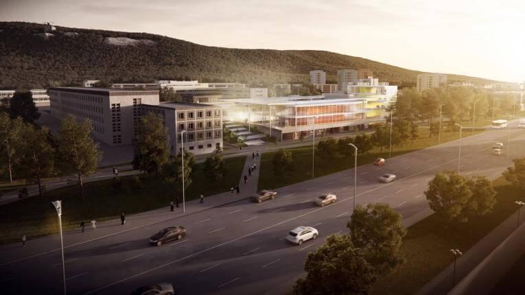 Mélygarázst és közösségi teret kap Tatabánya központja