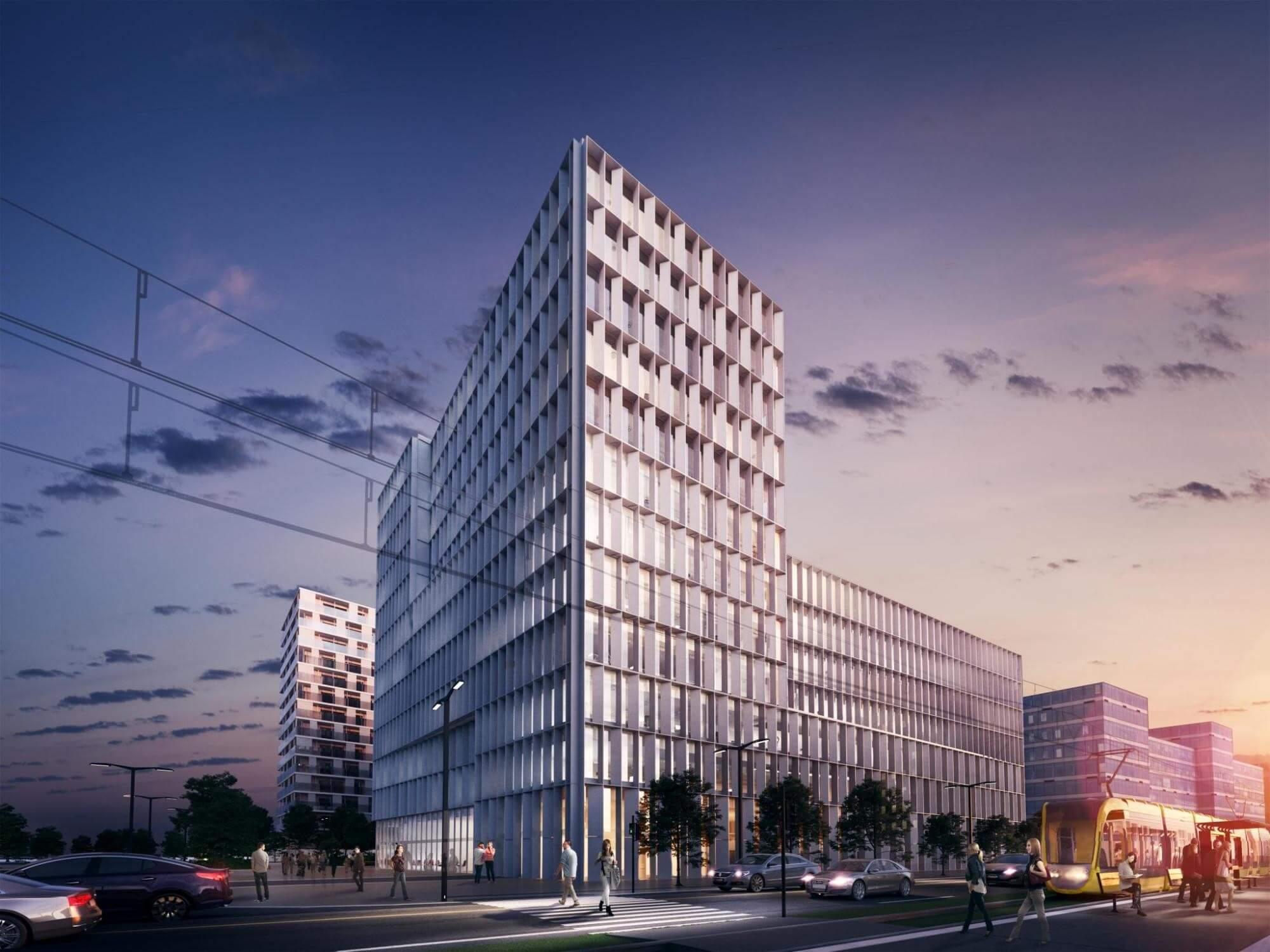 Idén birtokba vehetik a bérlők a 11 emeletes BudaPart Gate irodaházat