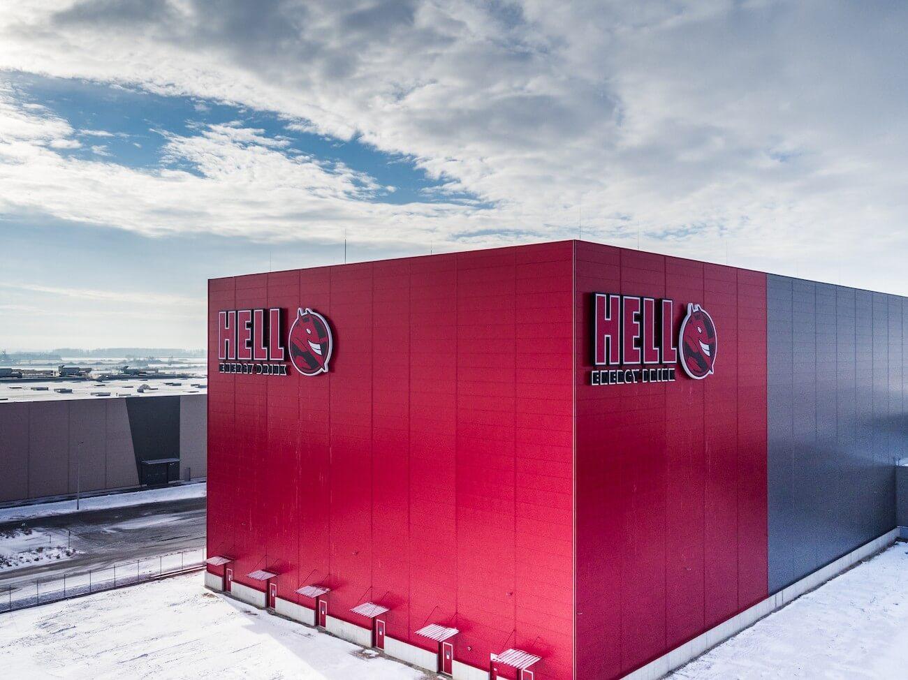 Több mint harmincezer raklap fér el a Hell új raktárában