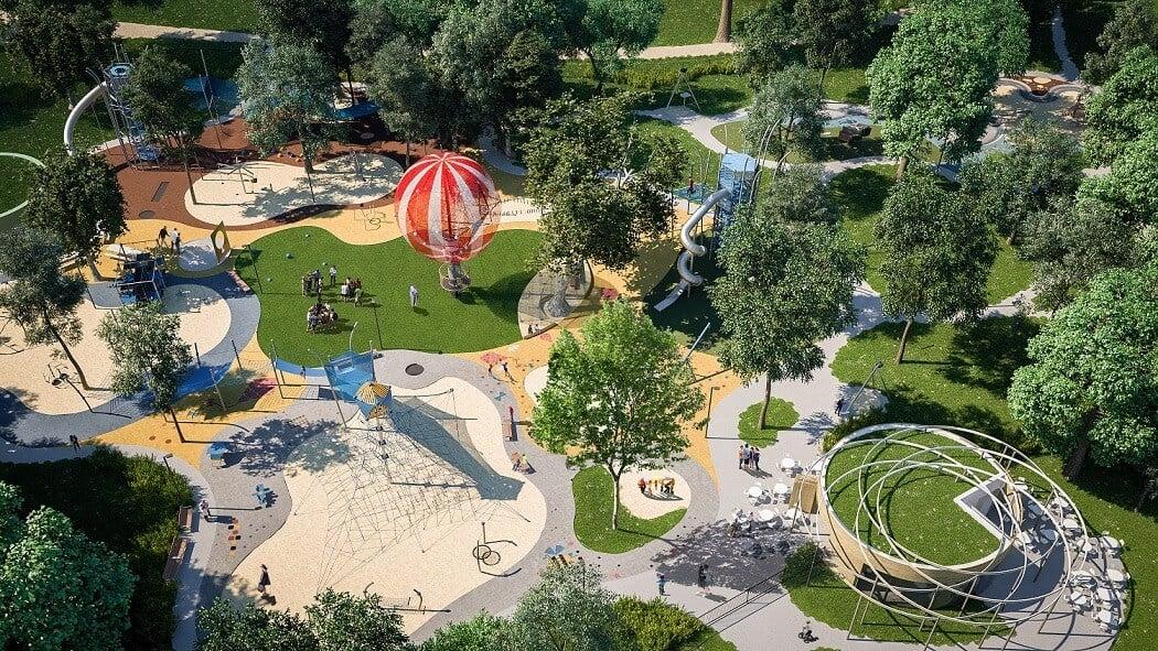 Európa egyik legkorszerűbb játszótere épül a Városligetben