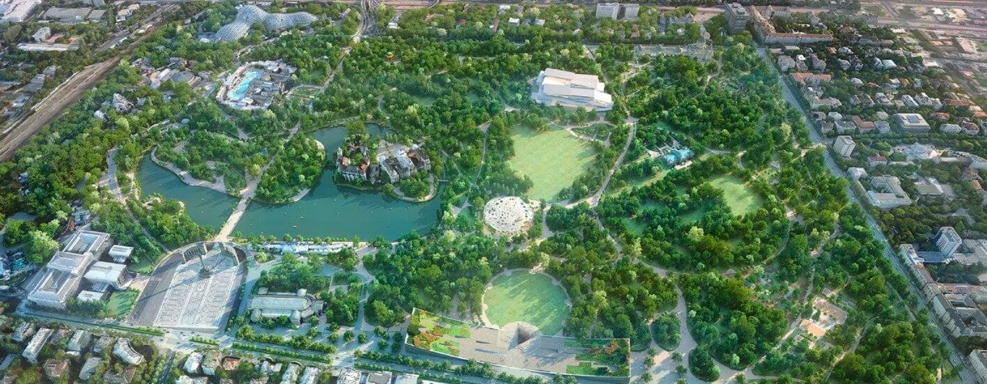 Futókör és sportpályák építésével folytatódik a Városliget fejlesztése