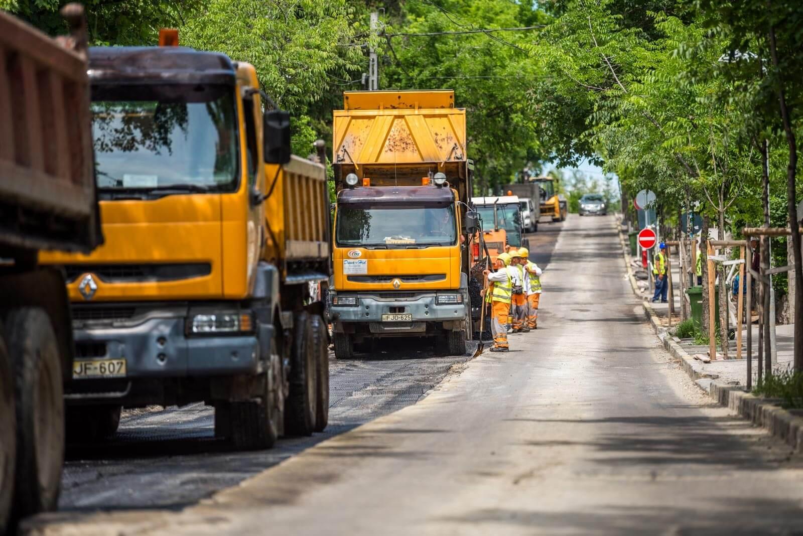 Csepelen rajtol el a főváros földutakat megszüntető programja