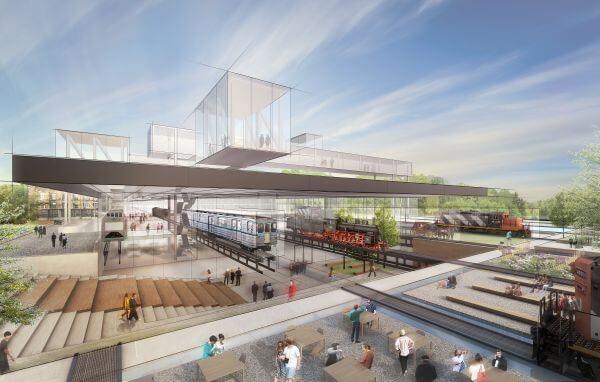 New York-i építésziroda teremti meg az új Közlekedési Múzeum arculatát