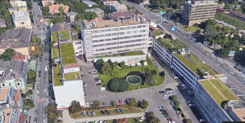 Egykori telefongyárból születnek irodák Zuglóban