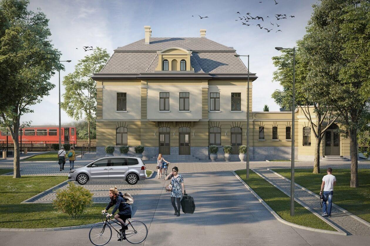 Díszes neobarokk vasútállomás kap méltó felújítást az Alföldön