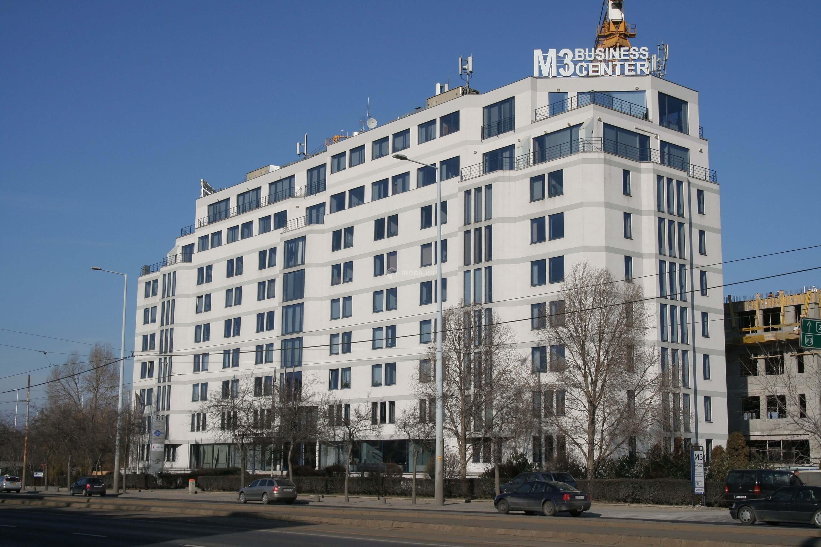 Így születik újjá az M3-as Business Center