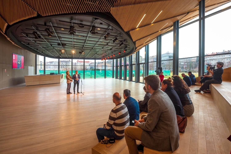 Exkluzív bejáráson mutatjuk meg a Nemzeti Táncszínház új épületét - videó