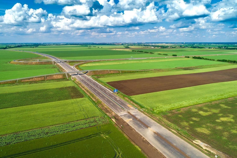 Javában aszfaltozzák az R67-es gyorsutat Kaposvár felé