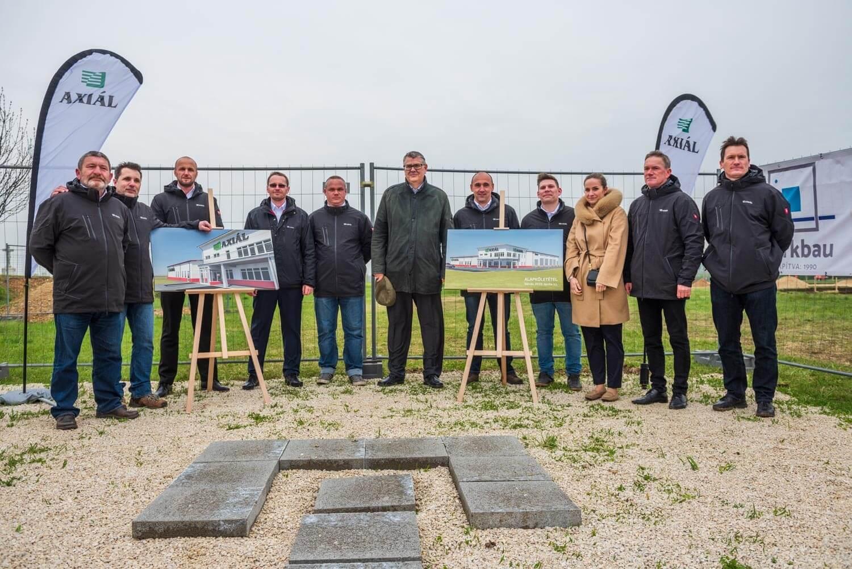 Nyugat-Magyarországon épít hazai cégnek telephelyet a Merkbau