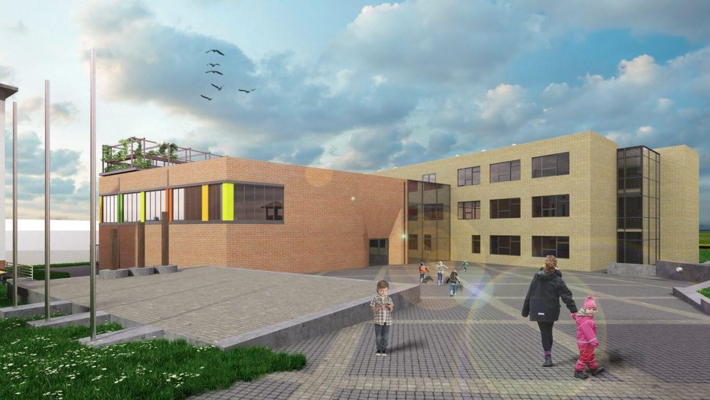 Tanuszodával épül meg Érd új általános iskolája