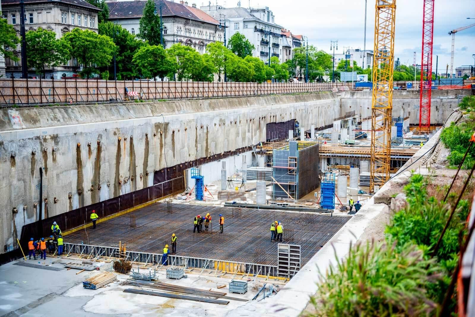 Háromszintes mélygarázs épül a Városliget szomszédságában