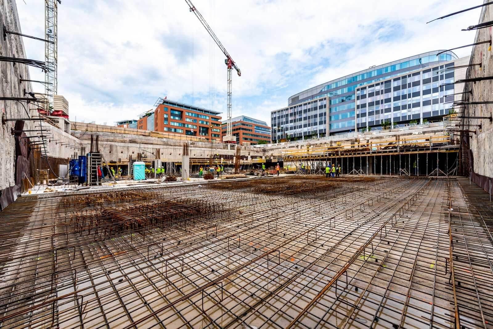 Két héttel a határidő előtt elkészült az evosoft-székház alapozása