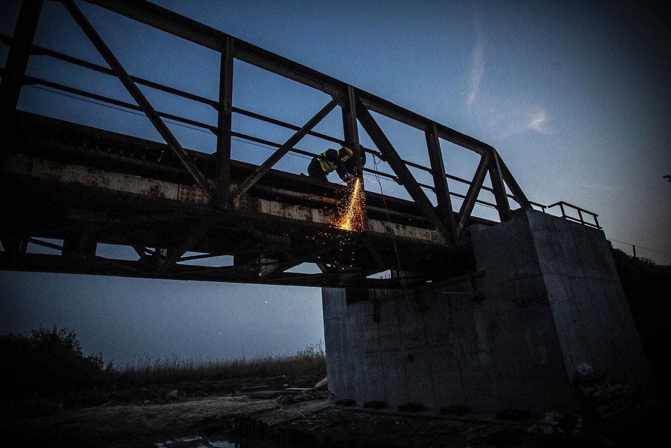 Már az új hídszerkezet készül az A-Híd Veszprém megyei közlekedésfejlesztésében