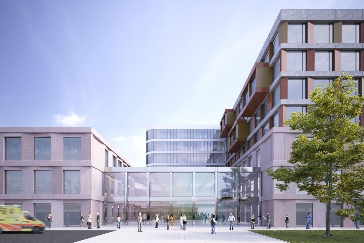 Új egészségügyi intézmény épül a főváros egyik legforgalmasabb részén