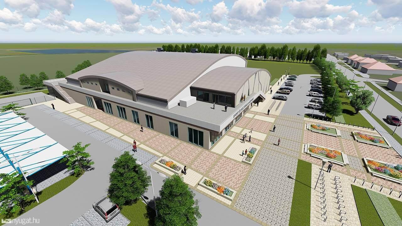 Sportcentrum alapkövét rakták le Vácon