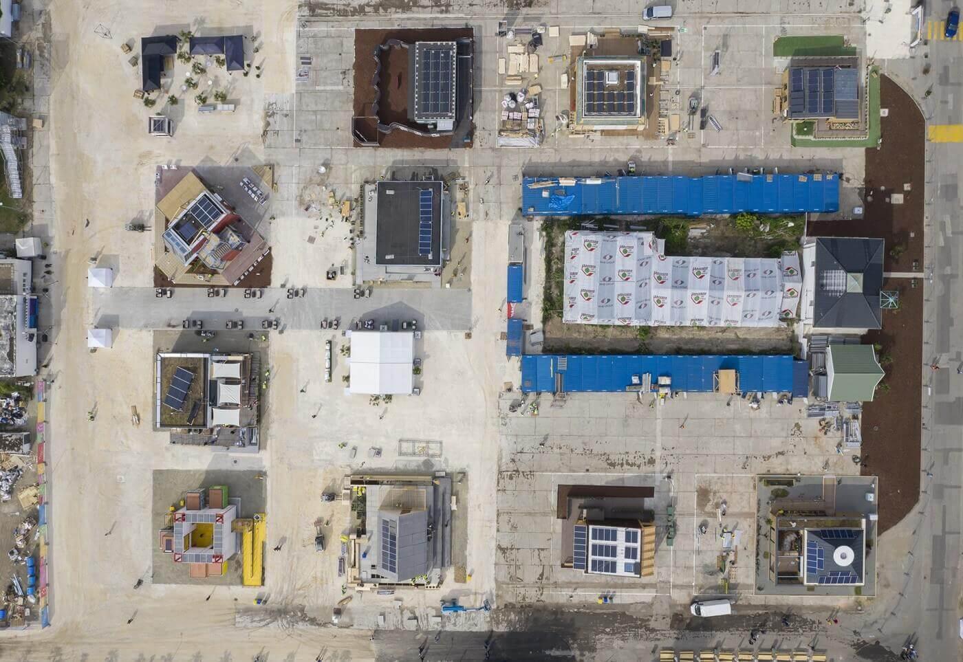 Két hét alatt épül energiatakarékos mintaházpark Szentendrén