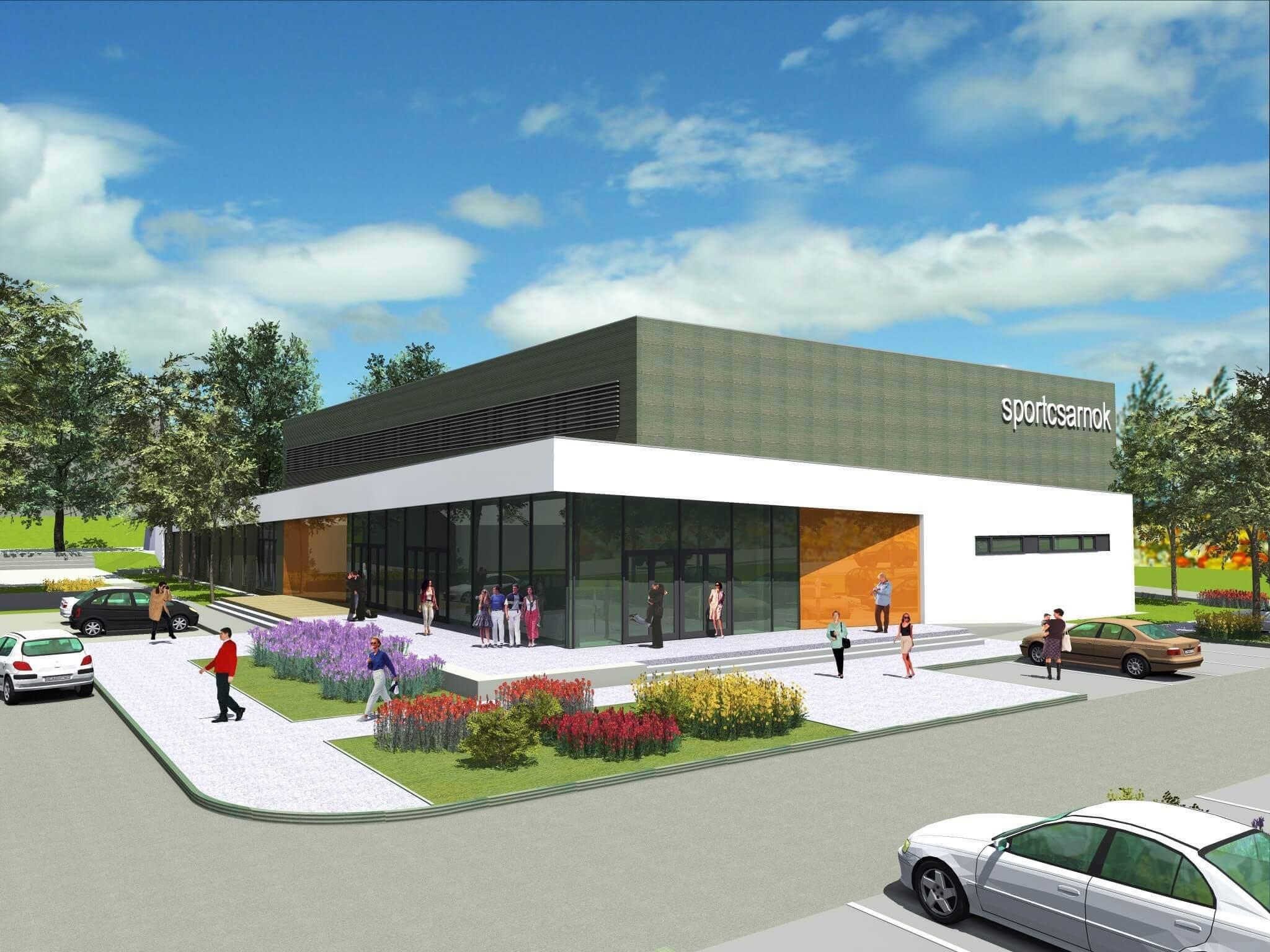 Az iskolát már átadták, a kézilabdacsarnokot építik Tatabányán