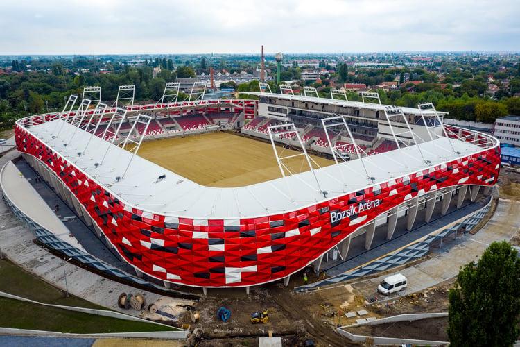 Az ellenfeleknek pokol, a Honvédnak otthon – itt tart a Bozsik-stadion projektje