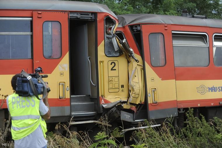 Lezárult az acsai vonatbaleset ügye: hárman is hibáztak