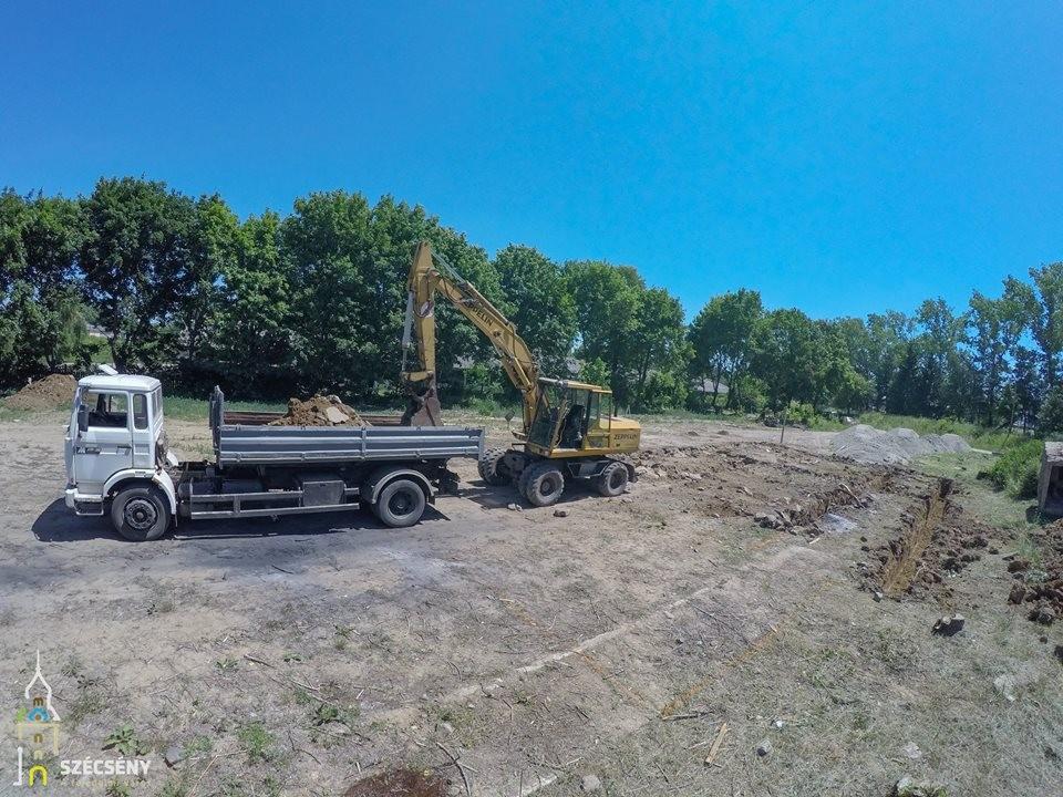 Megkezdődött Nógrád megye első Vágóhídjának építése Szécsényben