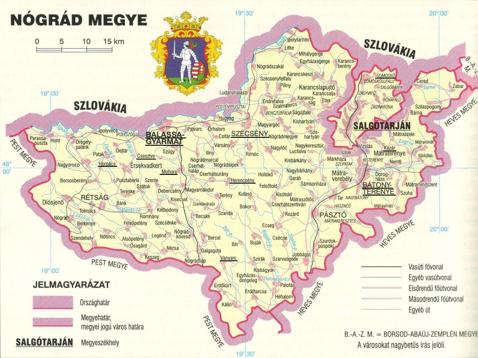 Új nevet kaphat Nógrád megye