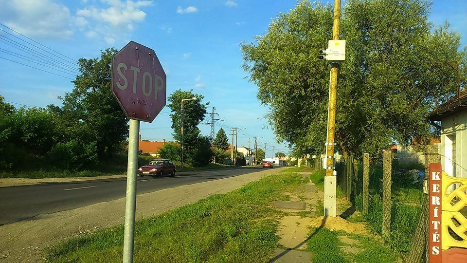 Kamerákkal szerelték fel Balassagyarmat utcáit