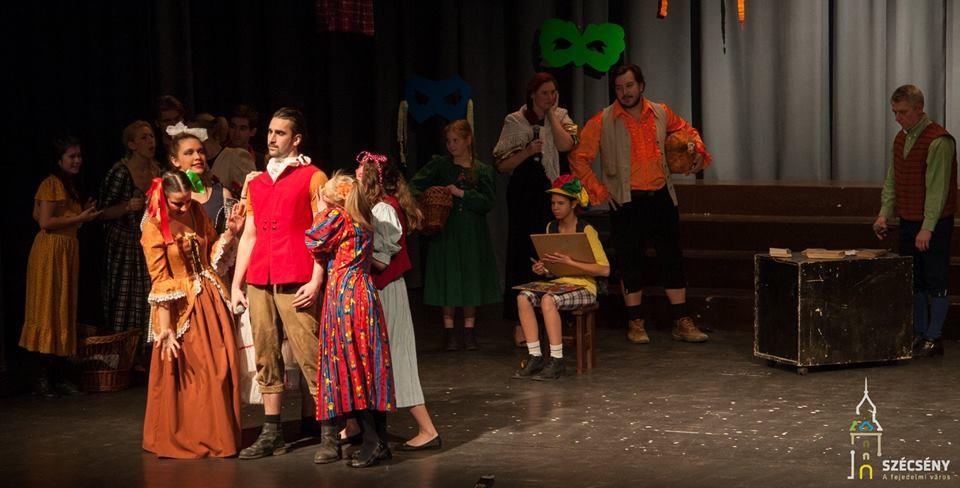Szécsényi színjátszósok készülnek a Magyar Nemzeti Értékek Napjára