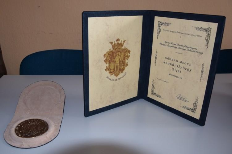 Szondi György díjat kaptak a nógrádi felderítők